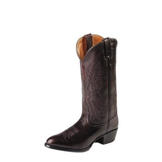 Nocona Western Boots Mens Brush Off Imperial Calf Black Cherry NB2006