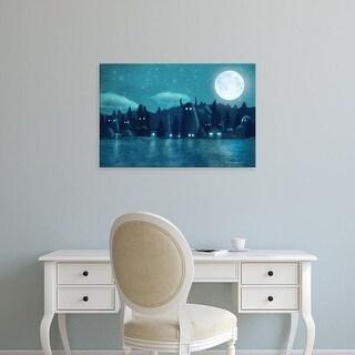 Easy Art Prints Terry Fan's 'The Darkest Dark' Premium Canvas Art