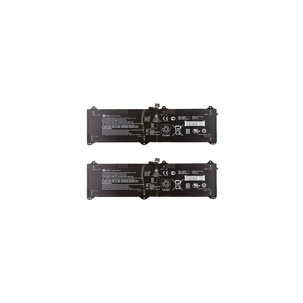 Battery for HP 812205001 (2-Pack) Replacement Battery