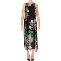 eade6eac5c Shop Vince Womens Maxi Dress Silk Pintuck - S - On Sale - Free ...