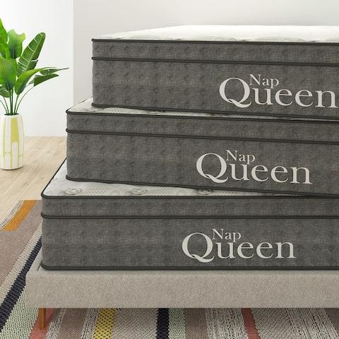 "Nap Queen Victoria 12"" Cooling Gel Hybrid Mattress"