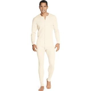 Hanes X-Temp Men's Organic Cotton Thermal Union Suit