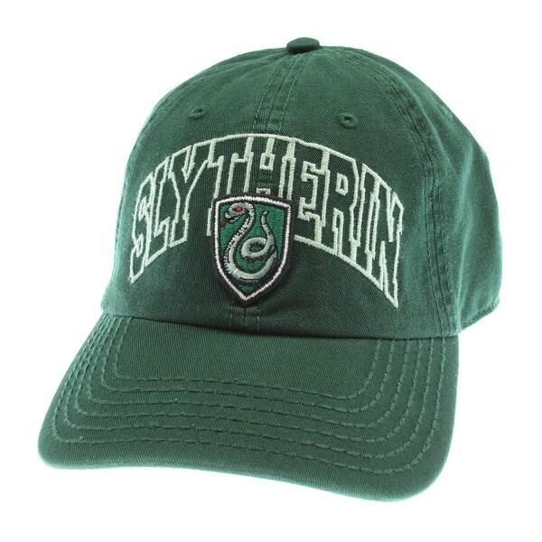 Harry Potter Slytherin House Crest Snapback Cap Baseball Hat One Size Hogwarts