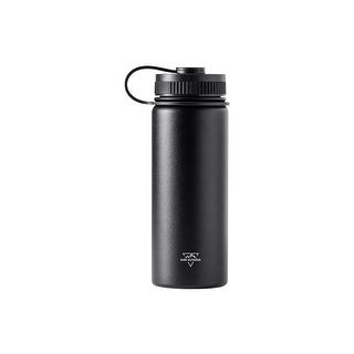 Pure Outdoor Vacuum Sealed 18 fl. oz. Wide-Mouth Water Bottle