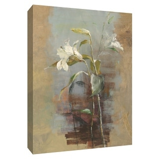 """PTM Images 9-154573  PTM Canvas Collection 10"""" x 8"""" - """"Contemporary Lilies II"""" Giclee Lilies Art Print on Canvas"""