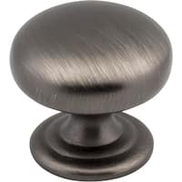 "Elements 2980  Florence 1-1/4"" Diameter Mushroom Cabinet Knob"