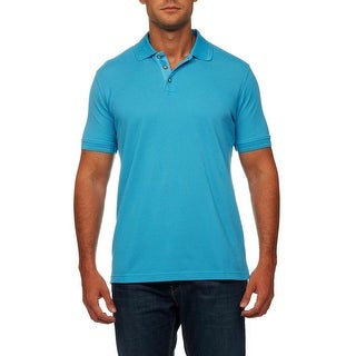 Robert Graham Mens Numero Pique Classic Fit Polo - XS
