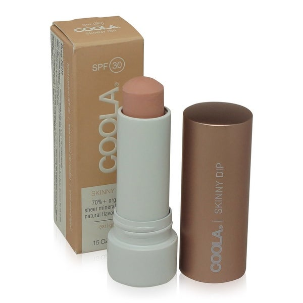 COOLA Mineral Lip Lux SPF 30 - Skinny Dip Sheer Tint 4.2g