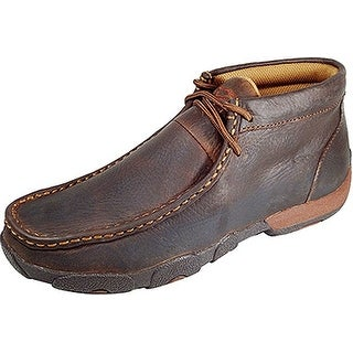 Twisted X Casual Shoes Womens Leather Driving Moccasin Copper WDM0006