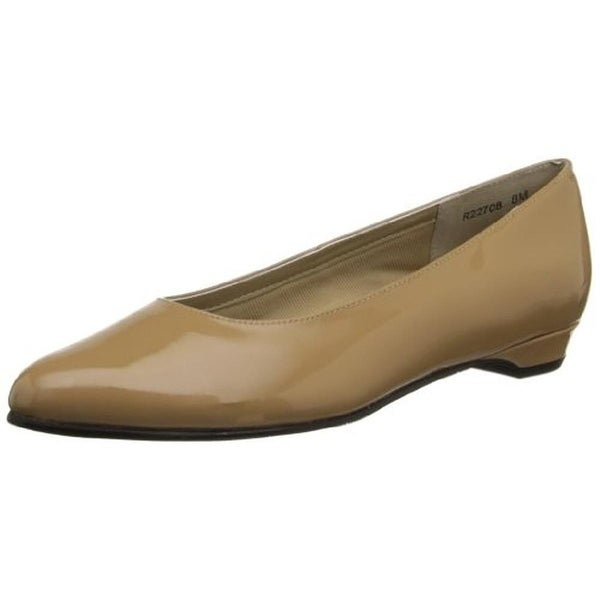 Rose Petals by Walking Cradles Womens Butter 2 Flats Patent Slip On