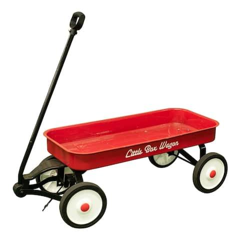 Children's Classic Pull Along Steel Wagon