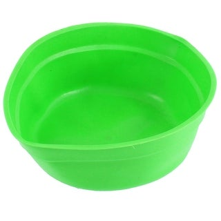 Rubber Fish Food Bait Feed Fodder Bendable Basin Green