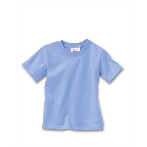 T120 Comfortsoft Crewneck ToDDler T-Shirt Size 4T, Light Blue