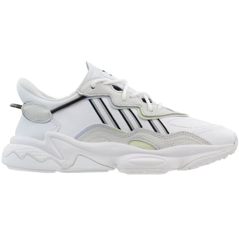 adidas Ozweego Womens Running Sneakers Shoes - Black,White