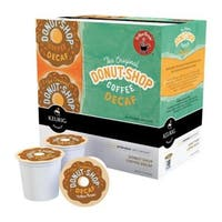 Keurig 01802 Coffee People Donut Shop Decaf Coffee K-Cups, Box/18