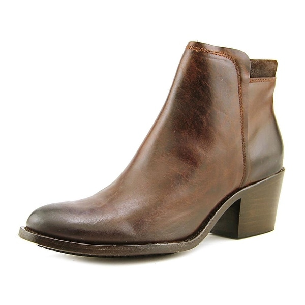 Wolverine Zadie Women Round Toe Leather Brown Ankle Boot