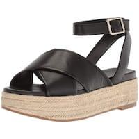 Nine West Women's SHOWRUNNER Leather Sandal - 11