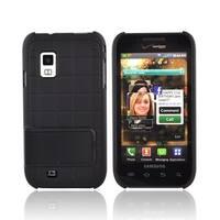 Samsung i500 Kickstand Snap-On Hard Cover Case - Black (Bulk Packaging)