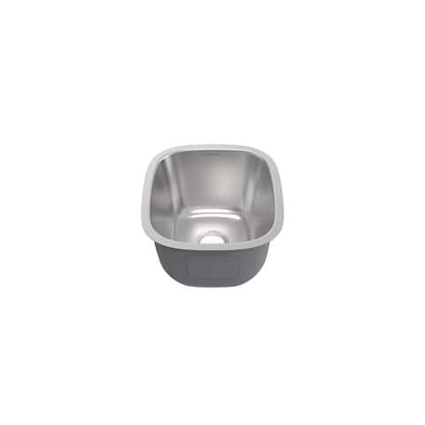 Toulouse 16 x 18 Stainless Steel Single Basin Undermount Kitchen Sink - 16 x 18
