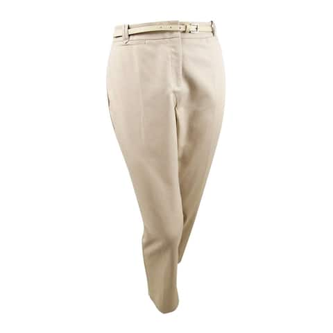 Charter Club Women's Tummy Slimming Slim Leg Ankle Dress Pants