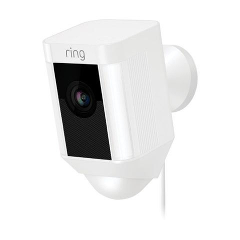 Ring 8SH1P7-WEN0 Spotlight Cam Wired Outdoor Rectangle Security Camera, White