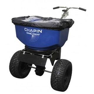 Chapin 82108B 100Lb Professional Stainless Steel Push Salt Spreader