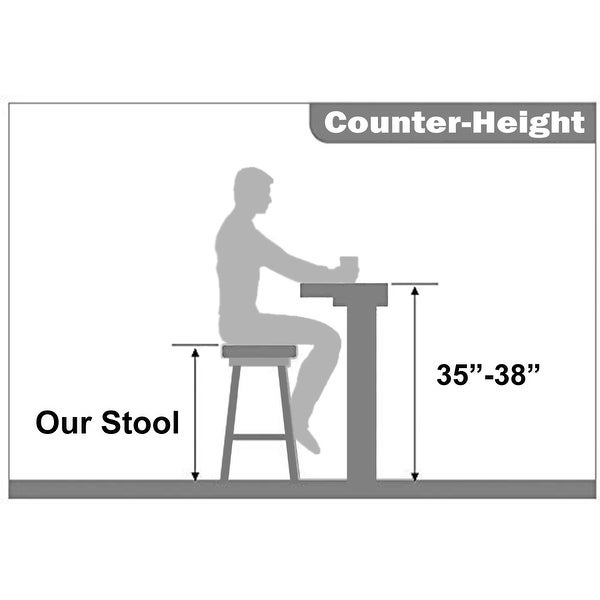 """Set of 4 25"""" Seat Counter Height Transparent Barstool Modern Ghost Stool Armless Chairs Molded Crystal With Back Garden"""
