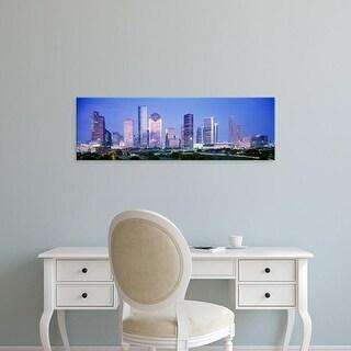 Easy Art Prints Panoramic Images's 'Houston, Texas, USA' Premium Canvas Art