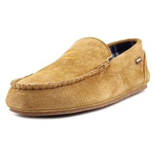 Lamo Jettison Moc Toe Suede Slipper