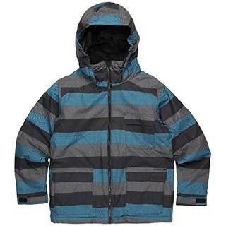 Burton Boys TWC Prizefighter Snowboard Jacket - meltwater stripe - Large
