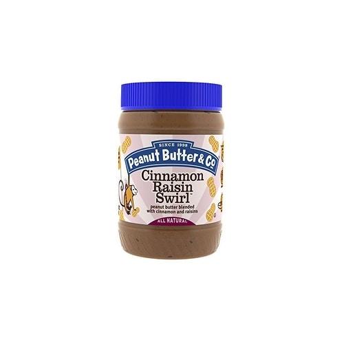 Peanut Butter and Co Peanut Butter - Cinnamon Raisin Swirl - Case of 6 - 16 oz.