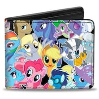 25 Ponies & Spike Stacked Bi Fold Wallet - One Size Fits most