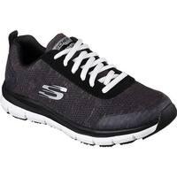 Skechers Women's Work Relaxed Fit Comfort Flex Pro HC SR Sneaker Black/White