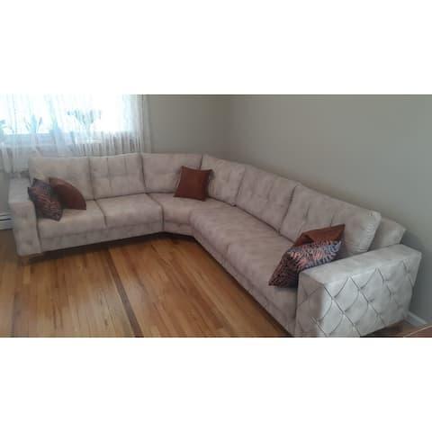 Garden Living Room Sectional Sofa