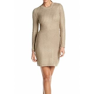 Calvin Klein NEW Beige Women's Size Medium M Cable Knit Sweater Dress|https://ak1.ostkcdn.com/images/products/is/images/direct/2fd1ed90f835bbabb89180d916491a449ef03496/Calvin-Klein-NEW-Beige-Women%27s-Size-Medium-M-Cable-Knit-Sweater-Dress.jpg?impolicy=medium