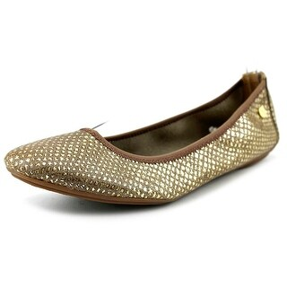 Hush Puppies Chaste Ballet Women Round Toe Leather Ballet Flats