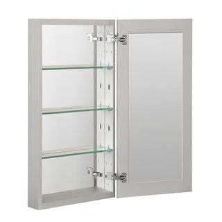 """Foremost MMC1536 36"""" x 4-5/8"""" Frameless Single Door Medicine Cabinet with Revers"""