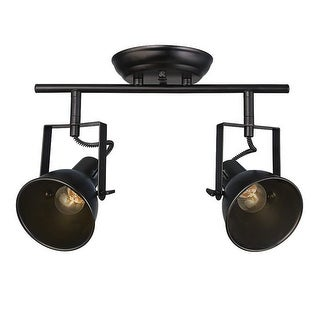 Link to 2 light industrial black track ceiling light Similar Items in Track Lighting