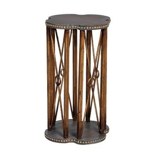 GuildMaster 713023 Bedford 15 Inch Wide Mahogany Accent Table