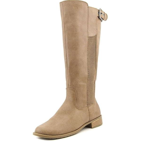 Kenneth Cole Unlisted Womens Spare Star Wide Calf Almond Toe Knee High Fashio...