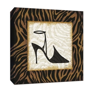 "PTM Images 9-152658  PTM Canvas Collection 12"" x 12"" - ""Safari Shoes II"" Giclee Shoes Art Print on Canvas"