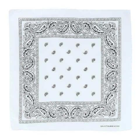 CTM® Cotton Paisley Print Bandana - one size