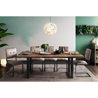 Link to Carter Rustic Elm Table Similar Items in Dining Room & Bar Furniture
