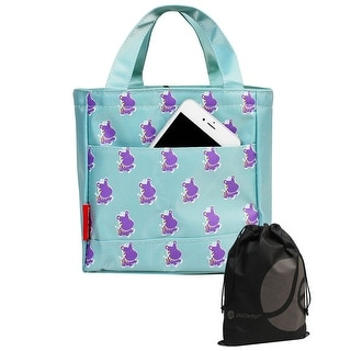 Animal Pattern Tote Bag Style Thermal Zipper Lunch Bag