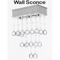 Modern Wall Sconce Lighting Crystal Balls Chandelier 2 Light