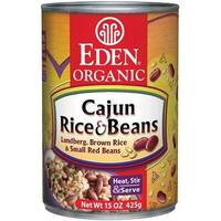 Eden Organic Cajun Rice & Beans, 15-Ounce Cans (Pack of 12)