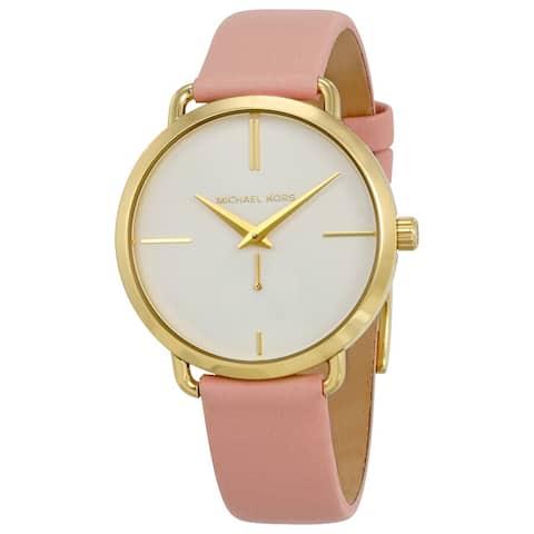 Portia White MK2659 Dial Blush Pink Leather Ladies watch - One Size