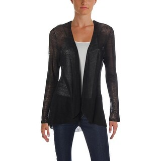 Eileen Fisher Womens Cardigan Sweater Knit Ribbed
