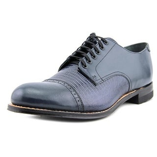 Stacy Adams Madison Oxford Men  Round Toe Leather Blue Oxford