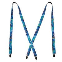 Buckle Down Women's Disney Finding Dory Print Clip-End Suspenders - One size